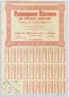 Plantations Réunies De L'Ouest Africain à Gagnoa, Cote D'Ivoire - Afrique