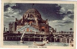 OSTIA MARE LA ROTONDA 1929  - LL310 - Altre Città