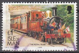 Isle Of Man   Scott No. 358d      Used     Year 1988     Parcel Post Cancel - Isle Of Man