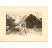 PHOTO  IDENTIFIÉE .  COL DE LAUTARET . AOÛT 1951 . - Places