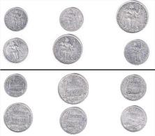 Nouvelle Calédonie : Lot De 6 Monnaies - New Caledonia