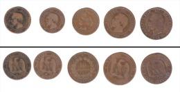 Lot XIX Siècle  //  Lot De Monnaies Du XIXème - France