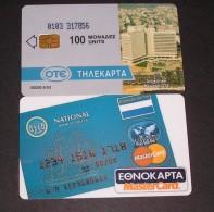 GREECE PHONECARD   MASTERCARD 103(WITH BARRED)-X0010- 50000pcs-5/93-USED-RARE - Grecia