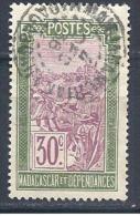 MADAGASCAR   N° 136 OBL   TB - Madagascar (1889-1960)