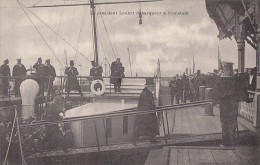 Evènements - Histoire - Militaria Marine Nationale Russe - President Loubet In Cronstadt - Réceptions