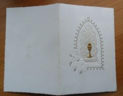 * SANTINO PRIMA COMUNIONE BARDOLINO VERONA 1962 - - Images Religieuses