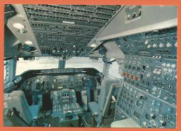 MOL2/357, Swissair, Jumbo-Jet 747-B, Cockpit, Grand Format, Non Circulée - Avions