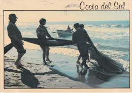 España--Huelva--1997--Pescadores-- Franqueo Tyneside, Inglaterra- - Pesca