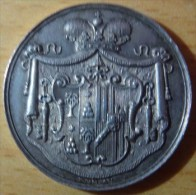 LOT 391:   ITALIE  -  MEDAILLE   -  SEDE VACANTE 1878   -   MARESCIALLO DEL CONCLAVE PRINCIPE MARIO CHIGI - Royal/Of Nobility