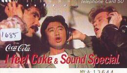 Télécarte Japon * COCA COLA  (1685) TELEFONKARTE * PHONECARD JAPAN *  COKE * - Werbung