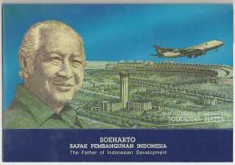 #07. INDONESIA. 50.000 RUPIAH. 1993. SOEHARTO. POLYMER W/FOLDER. UNC / NEUF. - Indonesië
