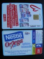 Chip Phone Card From Mexico, Ladatel Telmex, Nestle - Mexico