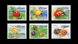 Alderney 2014 Set - Ladybirds - Alderney