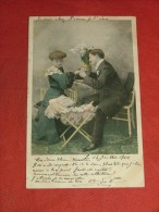 FANTAISIES - COUPLES -  Idylle - 1904 - (2 Scans) - Couples
