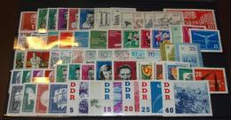 DDR Jahrgang Jear Set 1961 Komplett  Postfrisch MNH  ** #L280 - Colecciones