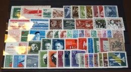 DDR Jahrgang Jear Set 1957 Komplett  Postfrisch MNH  ** #L284 - Colecciones