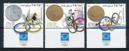 ISRAEL Mi. Nr. 1788-1790 Olympische Spiele  Athen 2004 - MNH - Summer 2004: Athens