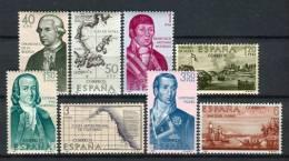 España 1967. Edifil 1819-26 ** MNH - 1961-70 Nuovi