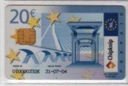"CARTE  Assimilée"" MONEO "" - Carte Préchargée 20€ - Hollande - RR - T.B.E - Monéo"