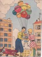 Nestlé - Fip Et Fop à La Conquête De La Stratosphère - Vers 1930 (0846) - Publicidad