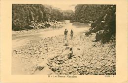 Afrique - Ethiopie - Le Fleuve Kassèm - état - Ethiopie