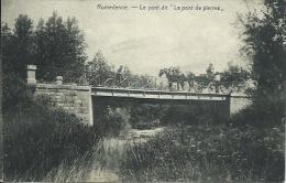 """Romdenne -Le Pont Dit """" Le Pont De Pierres """"  - Attelage -1921 ( Voir Verso ) - Philippeville"""