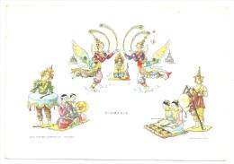 CPM / Illustrée Birmanie Burma  Postcard Républica Del Ragazzi 15 X 10,5 Cm TB - Cartes Postales