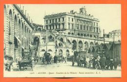 """Algerie - Alger   """"  Quais - Escaliers De La Pecherie - Palais Consulaire  """" - Algerien"""