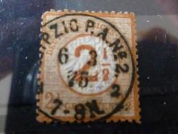 Duitse Rijk 1872 Mi Nr 29 Groot Borstschild - Allemagne