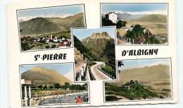 ST-PIERRE-d'ALBIGNY, Vue Générale, Col Du Frêne, Piscine, Château De Miolans (scan Recto-verso) FRCR91051 - Saint Pierre D'Albigny