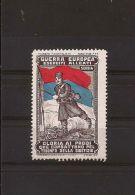 MILITARE WWI GUERRA EUROPEA ESERCITI ALLEATI SERBIA 1915 MARCHE NAZIONALISTE - Cinderellas