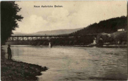 Berken - Neue Aarebrücke - BE Bern
