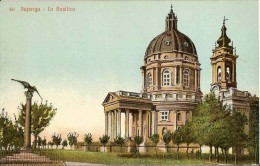 CPA - ITALIE - TORINO - SUPERGA - La Basilica - - Churches
