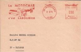 Lettre  EMA Le Motochar C´est Labourier Transport Camions  Voitures Agriculture Ferme  Tracteur  39 Mouchard19/05 - Autres (Terre)
