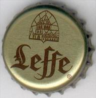 CAPSULE-BIERE-BEL-BRASSERIE NOTRE-DAME DE LEFFE Fond Or F Croisés - Bière