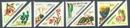 125 ALBANIE 1973 - Fleurs De Cactees (Yvert 1425/32) Neuf ** (MNH) Sans Trace De Charniere - Albanien