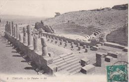 CPA Timgad - Le Théatre - Cachet Biskra - 1913 (0870) - Batna