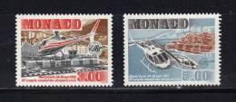 Monaco Timbres De 1990  Neufs** N°1736/37(vendu Prix De La Poste) - Monaco