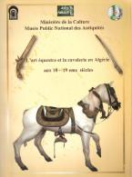 ART EQUESTRE CAVALERIE ALGERIE CAVALIER SPAHIS CHEVAL EQUITATION EQUIPEMENT ARME