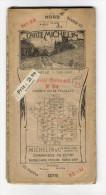 """Carte Géographique Routière Et Touristique  """" CARTE  MICHELIN """"  N° 24 ( NEVERS-CHALONS-sur-SAÔNE ) , édition 1921 - Cartes Routières"""