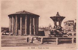 PC Roma - Temple De Vesta (0892) - Musées
