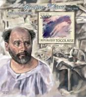 tg12206b Togo 2012 Painting Gustav Klimt s/s Michel: 4522 / Bl.720