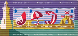 JERSEY  1975  Tourisme  Bloc Feuillet  ** - Jersey
