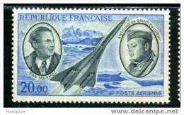FRANCE POSTE AÉRIENNE Yv 44**   Mermoz Et St-Exupéry - Poste Aérienne