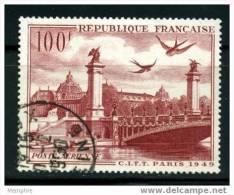 FRANCE POSTE AÉRIENNE Yv 28  CITT 1949   Oblitéré - Airmail
