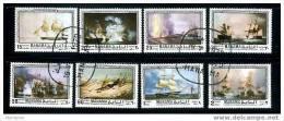 MANAMA Set Of 8 Marine  Paintings - Unclassified