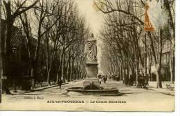 13 Aix-en-Provence  Le Cours Mirabeau - Aix En Provence