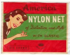 RETINA PER CAPELLI AMERICA NYLON NET MARKCROWN ANNI 40 - Prodotti Di Bellezza