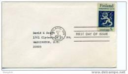 USA 1967  50 Th Ann Of Finland Independance  Scott 1334  Uncacheted, Circulated - 1961-1970