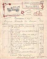TARN - CASTRES - CYCLES & AUTOMOBILES - REPARATION - LOCATION - ECHANGES -  NUMA BEL - 1906 - Cars